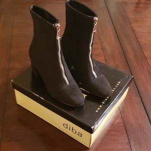 NWB Diba Zipper Black Boots